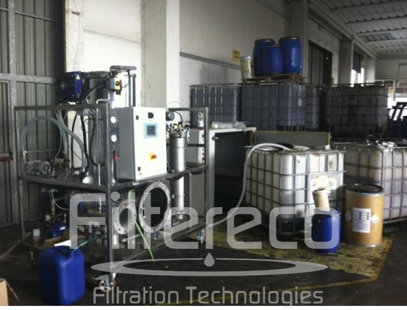 Serie FF - FF1000 - Rimozione combinata di acqua e particelle solide