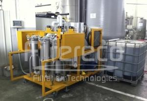 Serie FF - FF3000 - Rimozione combinata di particelle solide e acqua in olio